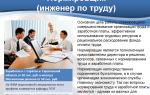 Инженер по организации труда. описание профессии