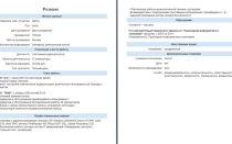 Образец резюме сестемного адитнистратора скачать в в формате word, ключевые навыки в резюме